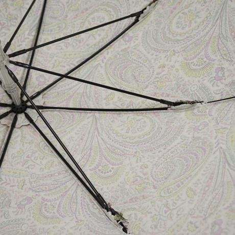 umfeel×FLANDERS LINEN 日傘 USED超美品 アンフィール フランダースリネン 麻 リバティ ペイズリー UV 47cm 中古 ブランド S3545