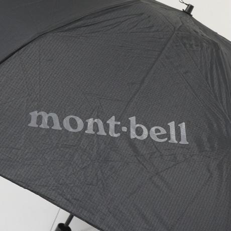 mont-bell モンベル 折傘 USED超美品 トレッキング アンブレラL 撥水 アウトドア 男女兼用 BK 折りたたみ傘 60cm KR FS6912