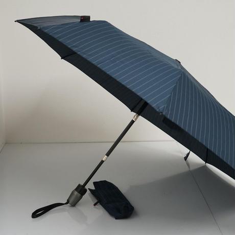 Knirps クニルプス 自動開閉式折傘 USED極美品 T220 Medium Duomatic Safety 折りたたみ傘 53cm 中古 ブランド FS6565