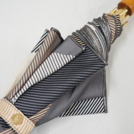 Polo Ralph lauren ラルフローレン 傘 USED美品 チェック ワンポイントポロマーク 一枚生地 60cm 中古 ブランド A3569
