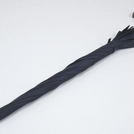 A0834 Kent IN TRADITION ケント 紳士傘 USED美品 ネイビー 超大判 70cm 中古 ブランド