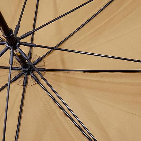 A0421 CELINE セリーヌ 紳士傘 USED美品 シンプル 天然木手元 65cm 中古 ブランド