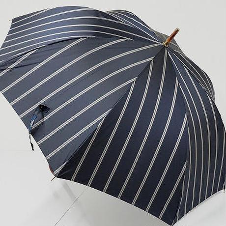 A9522 Kent IN TRADITION ケント 紳士傘 USED美品 ストライプ 大判65cm 中古 ブランド