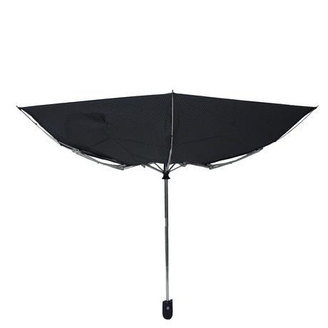 【全天候型万能傘】防風構造 55cm/自動開閉折りたたみ傘 晴雨兼用 [OSS018 BN/BG/BW]