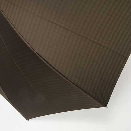 【日本製】 紳士用 先染め 裏格子チェック 65cm/長傘 [OSJ0004 BL/NE/MO]