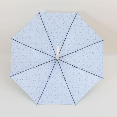 お顔まわりをパッと明るく!美白アンブレラ 晴雨兼用 大判ジャンプ傘58㎝/長傘ジャンプ式 [OSK014 W/P/S]