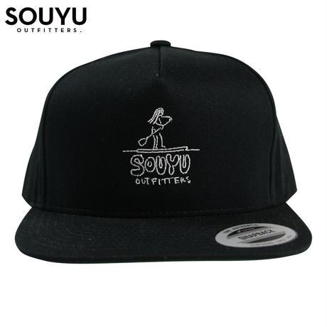 SOUYU OUTFITTERS. SOUYUMAN CAP ERA TYPE/f20-so-G09