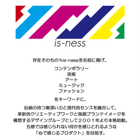 IS-NESS  T-shirt/AC/ID