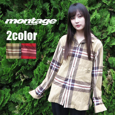 montage BIG B CHECK  SHIRT