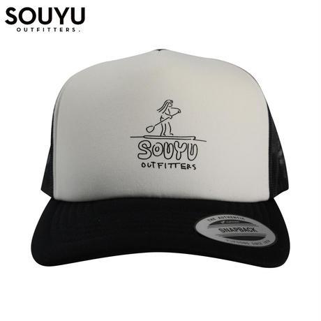 SOUYU OUTFITTERS. SOUYUMAN CAP MESH TYPE/f20-so-G10