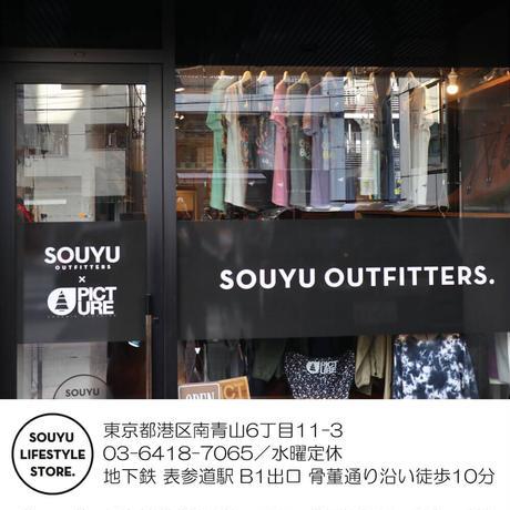 SOUYU OUTFITTERS. SMILE SUN POCKE TEE/s21-so-01