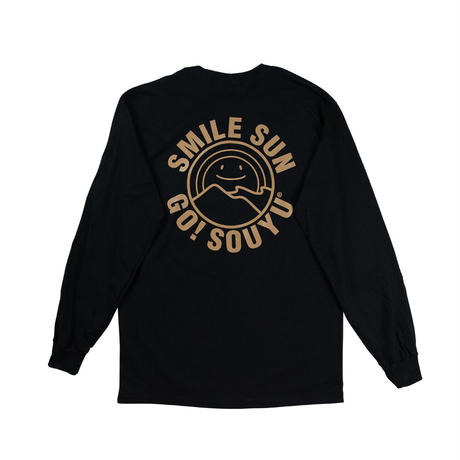 SOUYU OUTFITTERS. SMILE SUN L/S TEE/s21-so-03