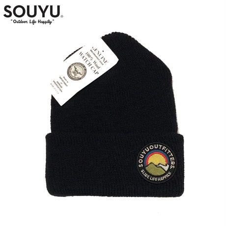 SOUYU OUTFITTERS. HIGH & LOW WATCH CAP/f20-so-G11