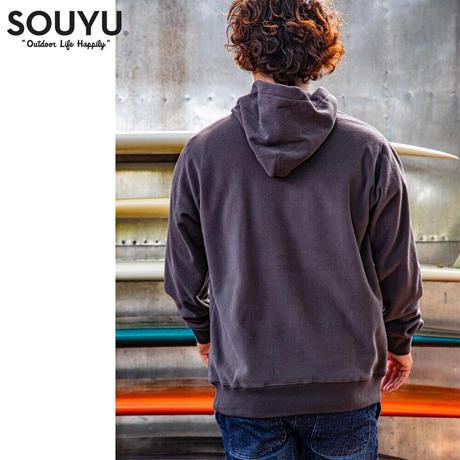 SOUYU OUTFITTERS. OLDSCHOOL FLEECE PARKA/f20-so-03