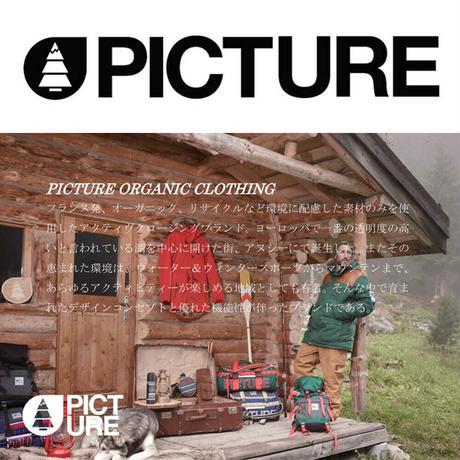 PICTURE ORGANIC CLOTHING WWF PLUSH ZIP HOODIE/MSW290