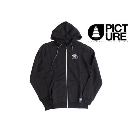PICTURE DOWN ZIP HOODY