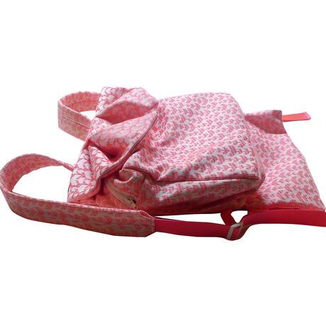 umejapon OBI 2 pink jacquard ウメジャポンオビツーピンクジャカード