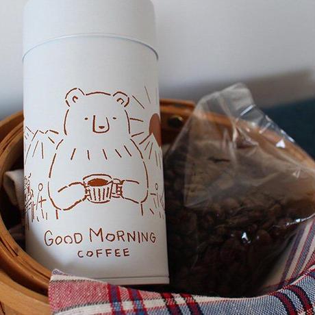 高旗将雄/コーヒー缶「GOOD MORNING COFFEE」