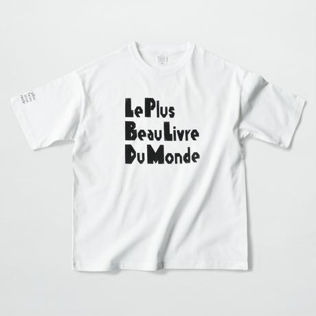 〈Tシャツ〉 Le Plus Beau Livre Du Monde