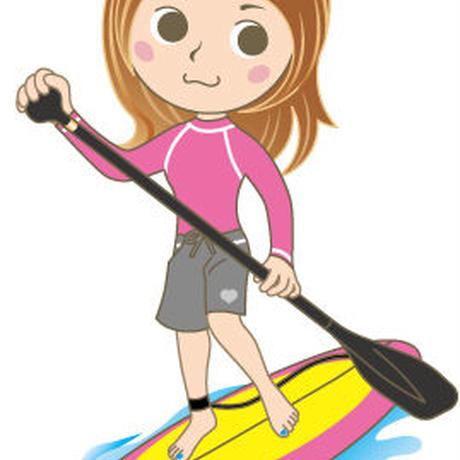 ウナギトラベル×たびーら女子旅 SUP(スタンドアップ・パドル・ボード)体験ツアー in 沖縄!2泊3日(往復ANA)お土産付き (身長20cm-30cmのお客様)