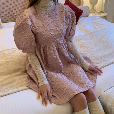 blooming flower mini one-piece(pink)