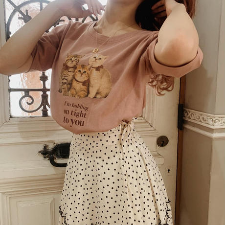 Treat cat T-shirts(strawberry)