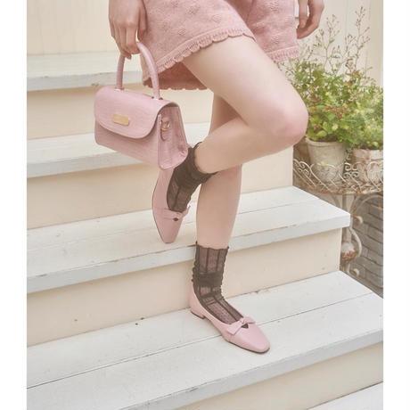 retro ribbon ballet shoes