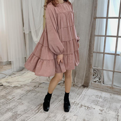 Tiered flare one-piece(fairy)