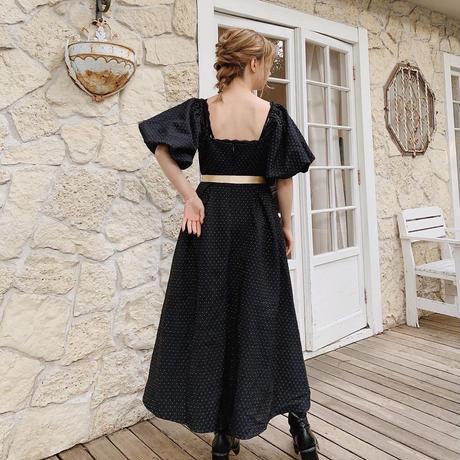 Jacquard chic occasion dress