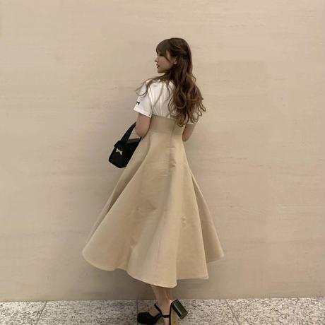 classic elegant one-piece(beige)