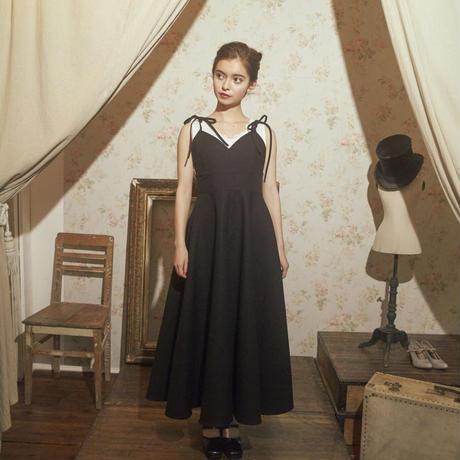 classic elegant one-piece(black)