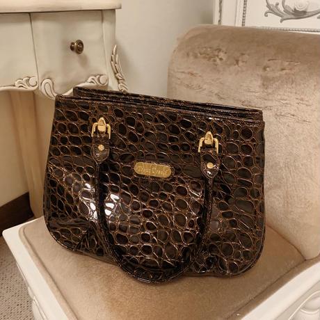 original leather boston bag