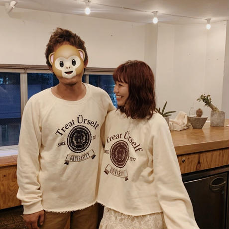 Treat vintage college pair sweat