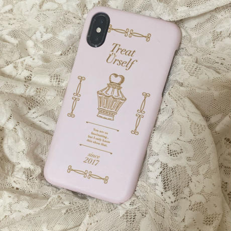 Treat antique  hard case(Right pink)