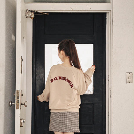 Daydreamer boa sweat(beige)