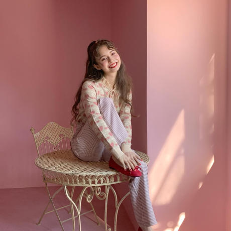 cherry lovely knit (pink)