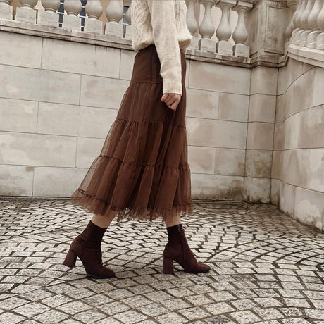 suede short boots