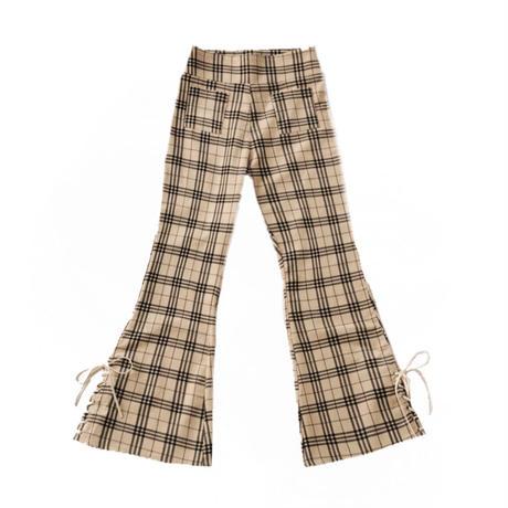 British corduroy check  pants