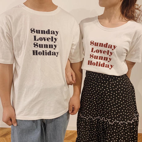Holiday T-shirts(white)