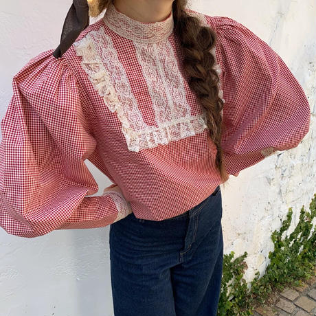 retro country puff tops