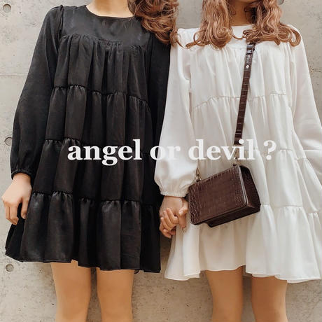 Tiered flare one-piece(angel)