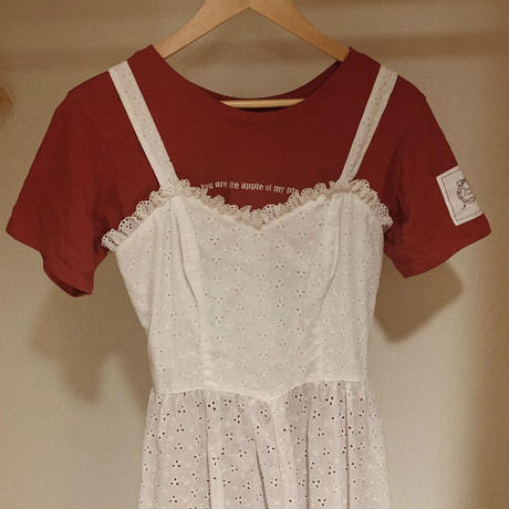 original cotton lace one-piece