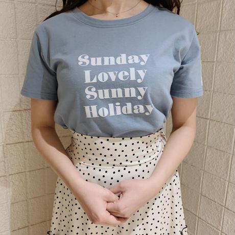 Holiday T-shirts(ice blue)