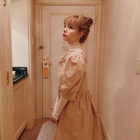 French  dolly one-piece(beige)