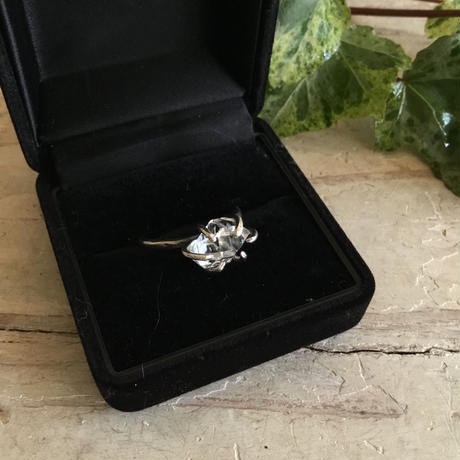 Herkimer diamond ring No,7