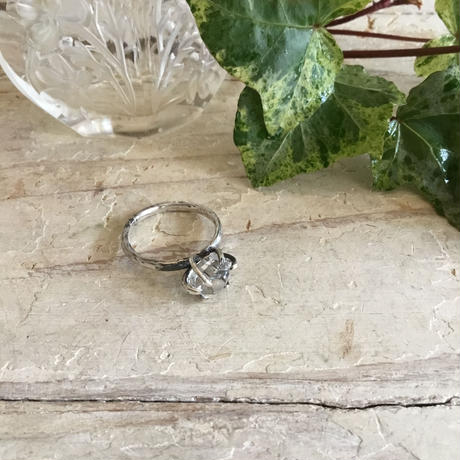 Herkimer diamond ring No,5