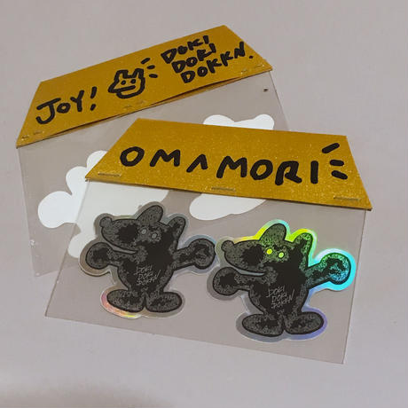 OMAMORI! sticker(2枚セット)