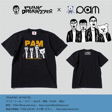 【PAM×PUNKDRUNKERS】Mr.PAM TEE