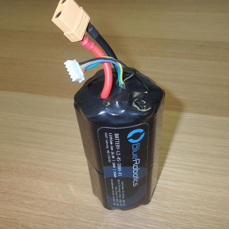 【大容量】BlueROV2 純正リチウムイオンバッテリー(14.8V、18Ah) − Lithium-ion Battery (14.8V, 18Ah)
