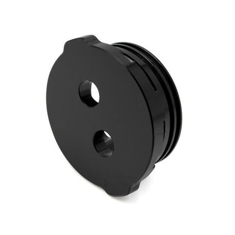 2インチフランジキャップ(2穴) − Flange Cap - Aluminum - 2 Holes - 950m